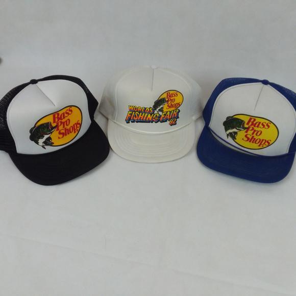 480e7ce5 Bass Pro Shops Accessories | Vintage Trucker Mesh Hats | Poshmark